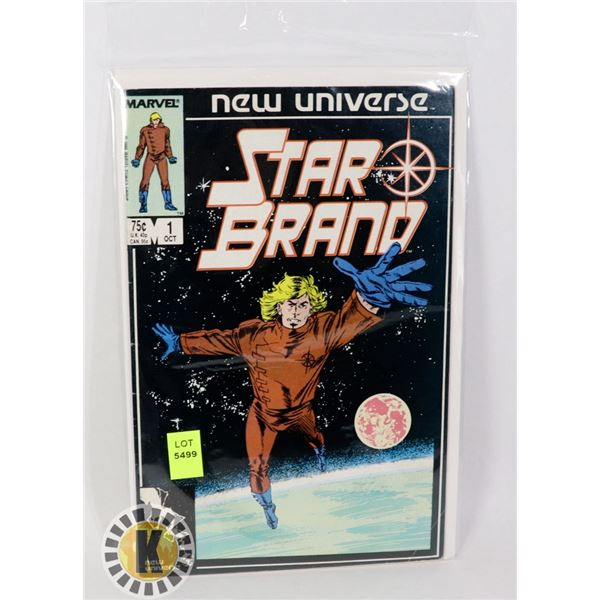 NEW UNIVERSE STAR BRAND #1