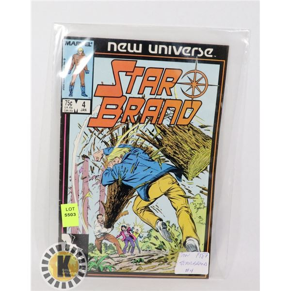 NEW UNIVERSE STAR BRAND #4 '87