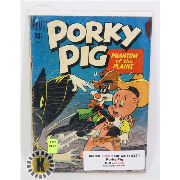 PORKY PIG #271 MAR 1950