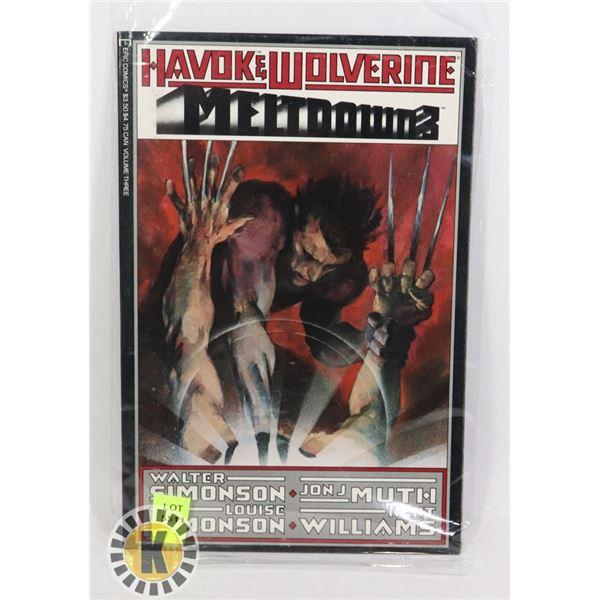 HAVOK & WOLVERINE MELTDOWN 3