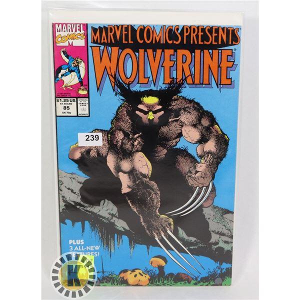 MARVEL COMICS PRESENT  WOLVERINE #85