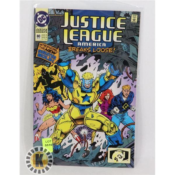 JUSTICE LEAGUE AMERICA #80