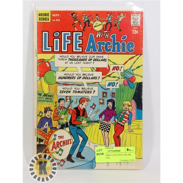 ARCHIE SERIES LIFE WITH ARCHIE COMIC BOOK