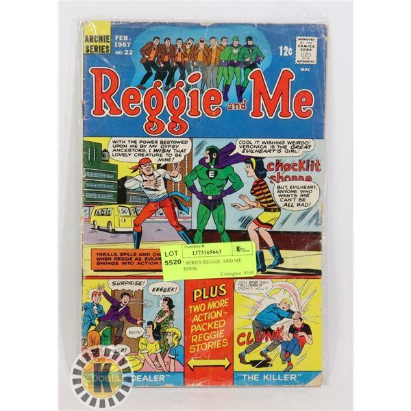 ARCHIE SERIES REGGIE AND ME COMIC BOOK