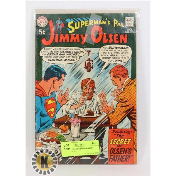 SUPERMAN'S PAL JIMMY OLSEN #124