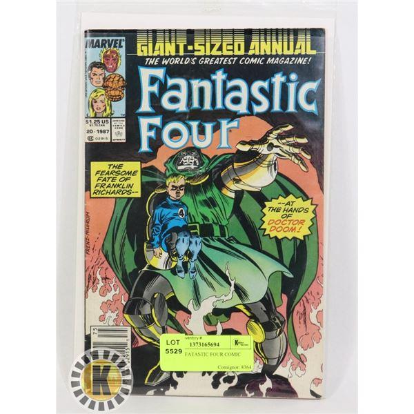 MARVEL FANTASTIC FOUR COMIC BOOK