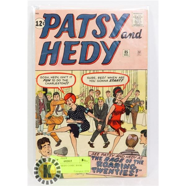 PATSY AND HEDY COMIC BOOK