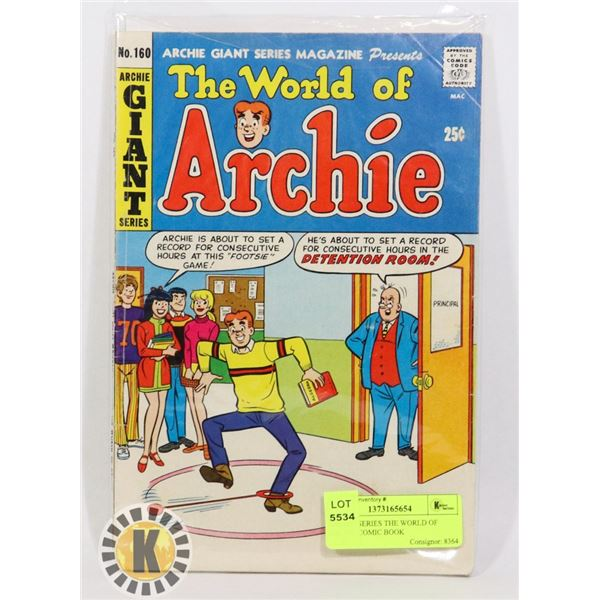 ARCHIE SERIES THE WORLD OF ARCHIE COMIC BOOK