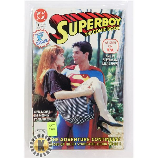 SUPERBOY THE COMIC BOOK 1ST ISSUE
