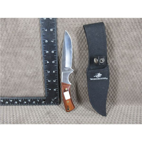 Winchester Fixed Blade Knife with Sheath - Appears New