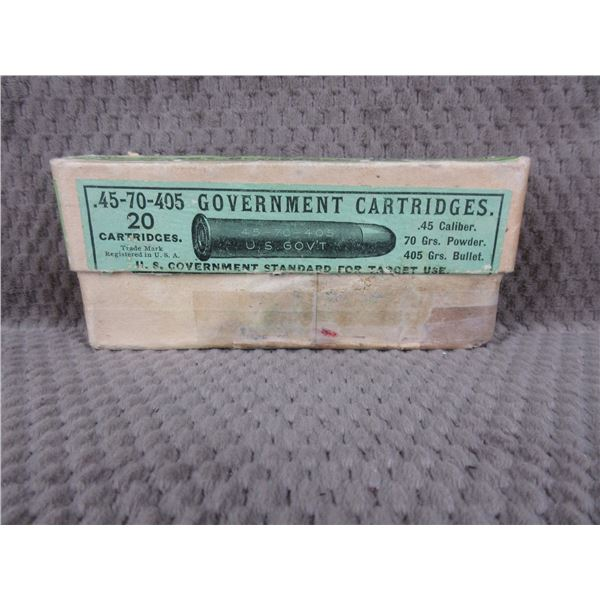 Collector Ammo - Winchester 45-70-405 Government