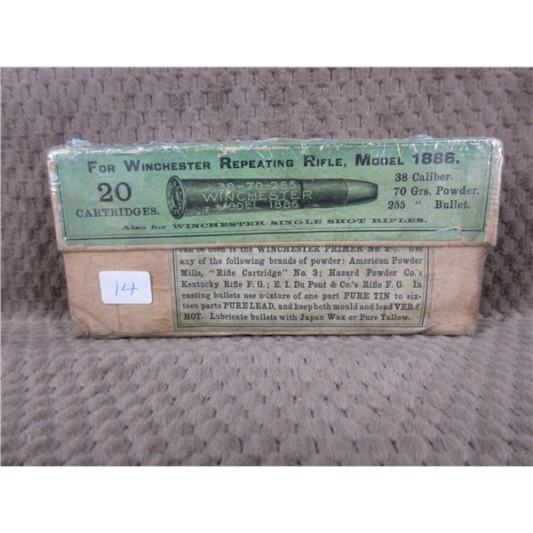 Collector Ammo - Winchester 38-70 for Model 1886
