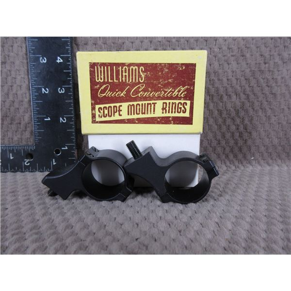 """Williams 1"""" Offset Rings  - Appear New"""