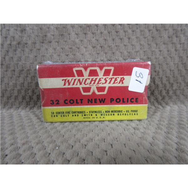 Collector Ammo - Winchester 32 Colt New Police