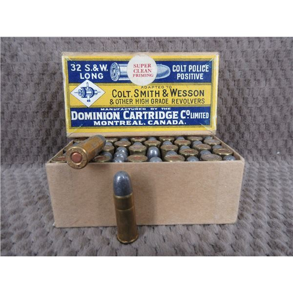 Collector Ammo - Dominion 32 S&W Long/Colt Police Positive