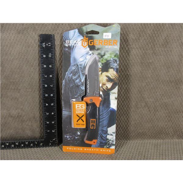 Gerber Folding Sheath Knife - Unopened New in Package