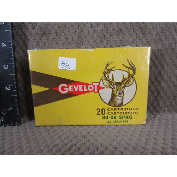 Collector Ammo - Gevelot 30-06 SPRG made in Canada