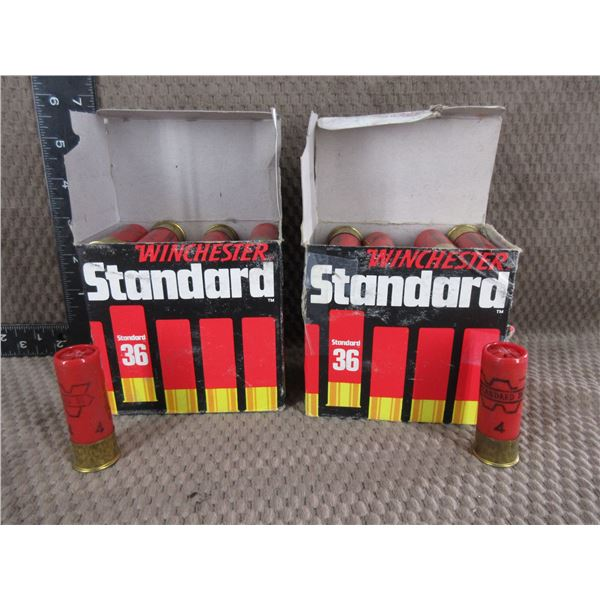 "12ga 2 3/4"" Winchester Standard #4 1 1/4 oz - 2 Boxes of 25"