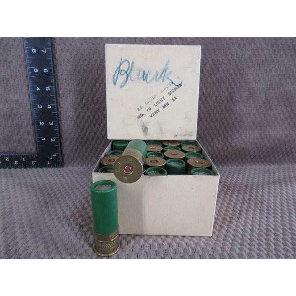 Collector Ammo - No. 10ga Light Signal Green - Box of 25