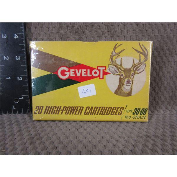 Collector Ammo - Gevelot 30-06 SPRG - Box of 20
