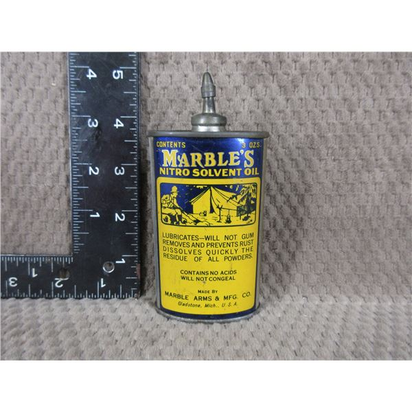 Collector Marble's Nitro Solvent Oil Can