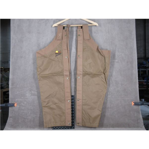 Browning/Pheasants Forever Chaps One Size- Appear Unused