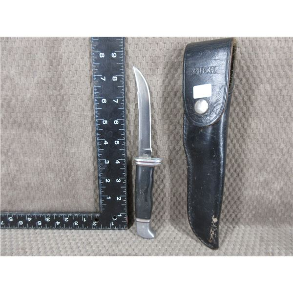 Biuck Fixed Blade Knife with Sheath - Used