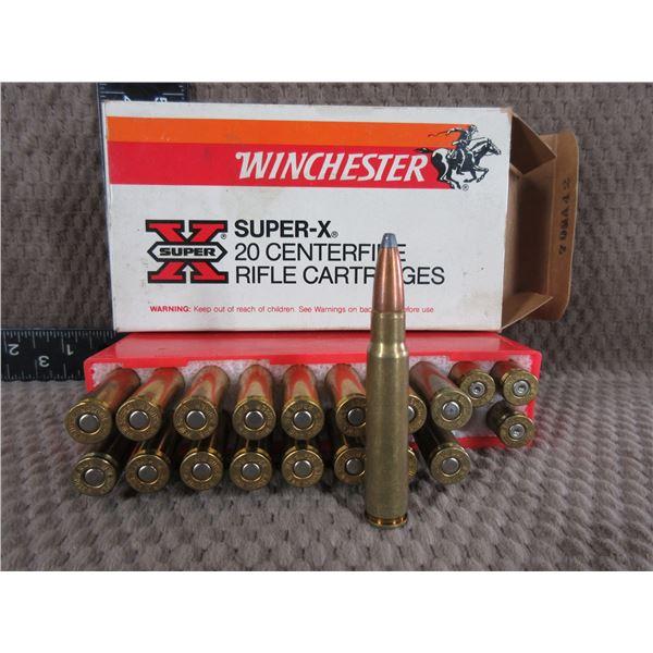 8MM Mauser - Winchester 17 Live 3 Brass