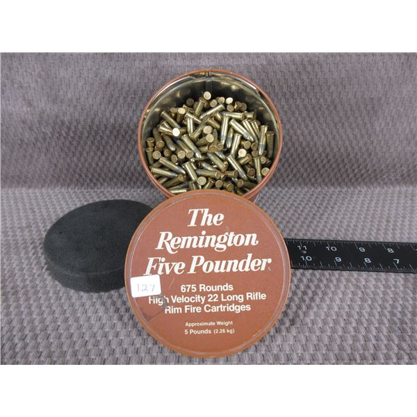 The Remington Five Pounder - 675 Rnds 22 Long Rifle