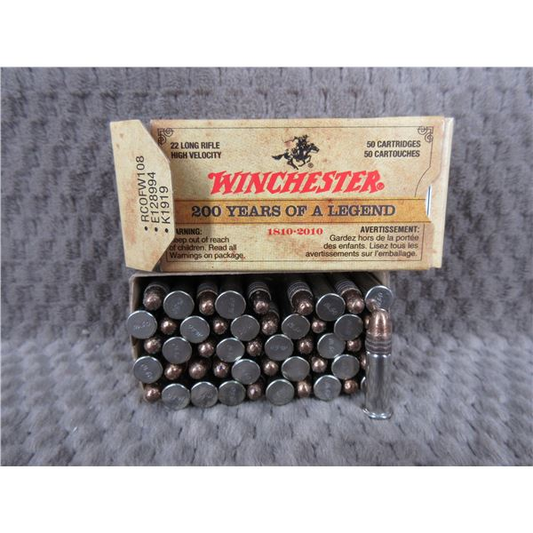 Winchester 200 Years Of A Legend 22 LR Box Of 50