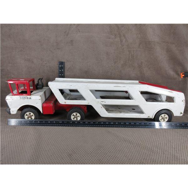 Mighty Tonka Car Carrier No Cars