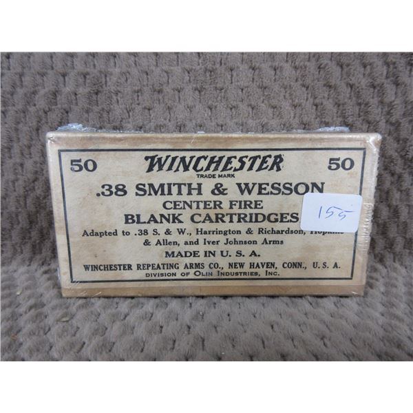 Collector Ammo Winchester .38 Smith & Wesson