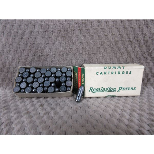 Collector Ammo Remington Peters Dummy Cartridges