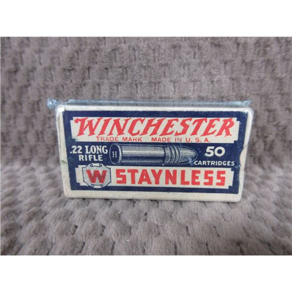 Collector Ammo Winchester Staynless 22 Long - Box of 50