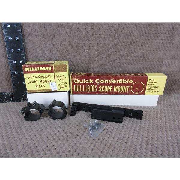 "Williams Model SM 99 Base & Standard 1"" Rings"