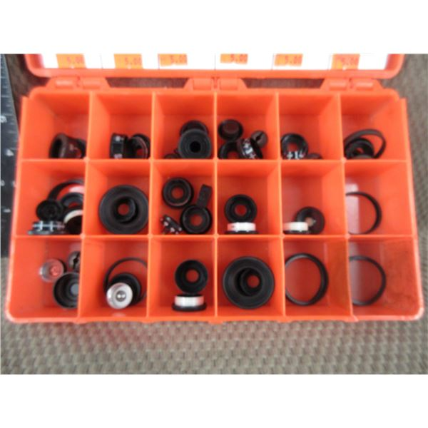 Tray Of Scope Caps and Parts