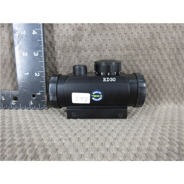 BSA Red Dot Scope Model RD-30 - appears to work