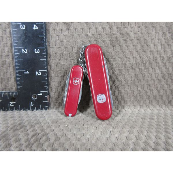 Pair of Swiss Army Knives - Used