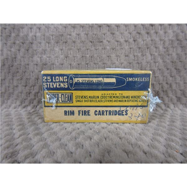 Collector Ammo CIL 25 Stevens  Long  Box of 50