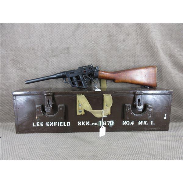 Lee Enfield No.4 MK.1 Cutaway rifle in Military Box