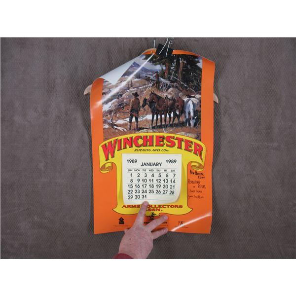 Winchester 1989 Calender Arms Collector Assn.