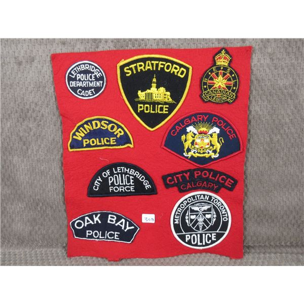 Collector Police Patches