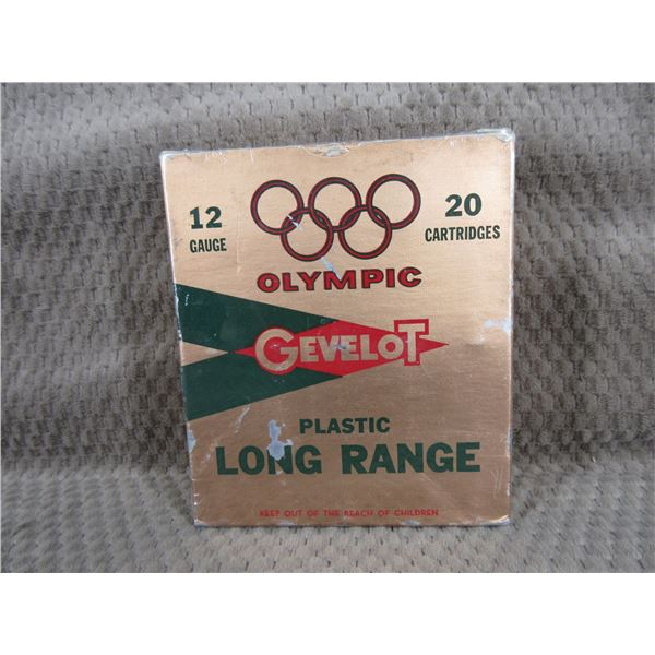 Collector Ammo Olympic Gevelot 12 Ga Box of 20