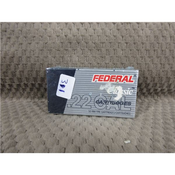 Collector Ammo Federal Classic 22 Long Rifle