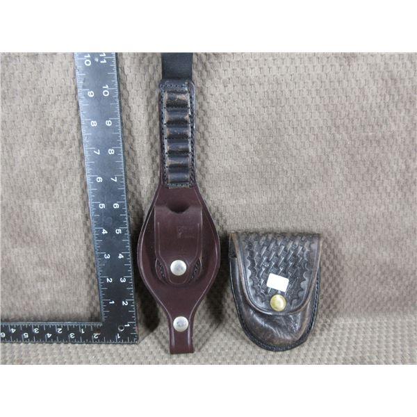 Leather Hancuff case & Smith & Weston #135