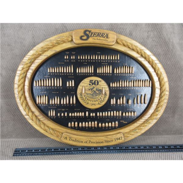 Sierra 50th Anniversary Bullet Board
