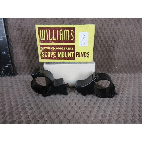 Williams Scope Mount Rings