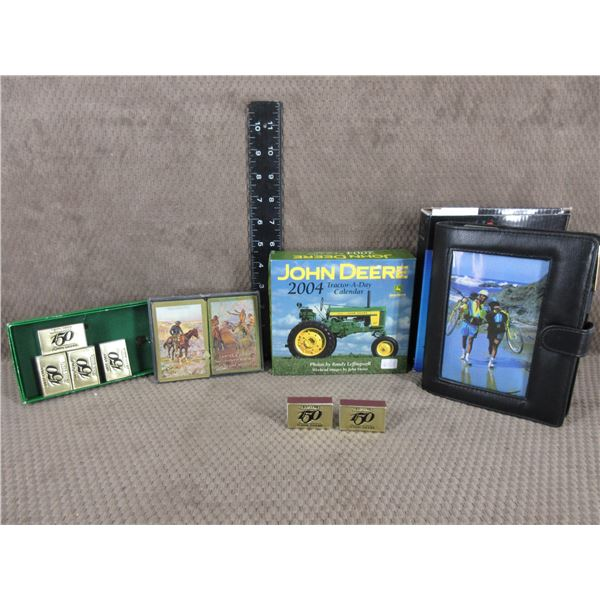 Playing Cards, Business Organzer, John Deere Collectibles
