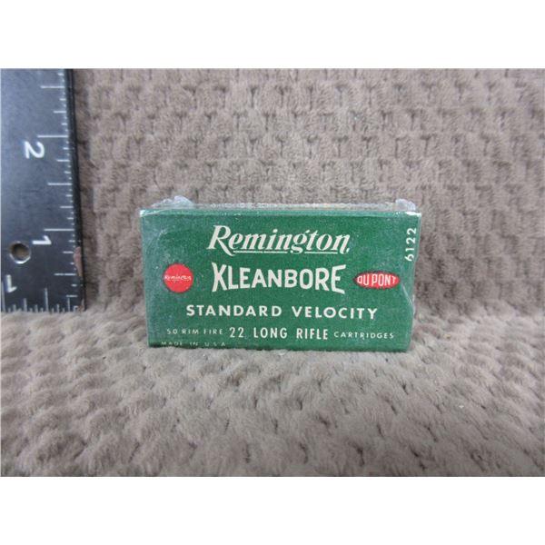 Collector Ammo - Remington Kleanbore 22 LR - Box of 50