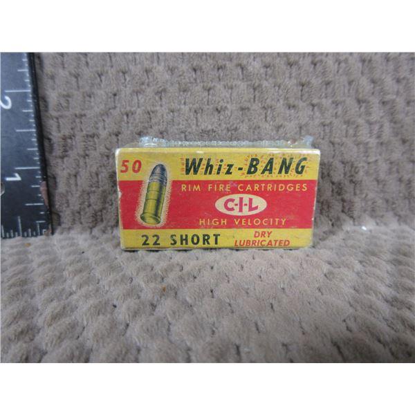 Collector Ammo - CIL Whiz-Bang 22 Short - Box of 50